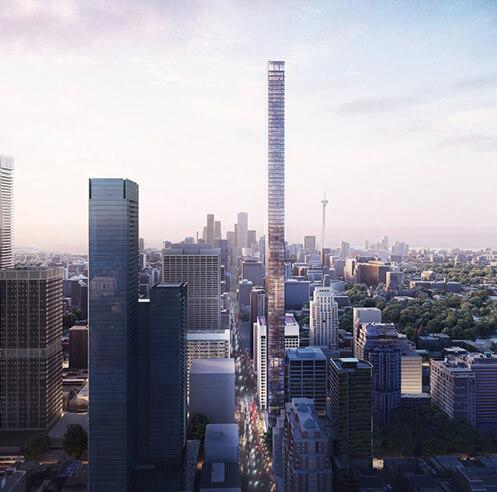 Herzog & de Meuron envisions 1200 Bay Street as Canada's tallest skyscraper
