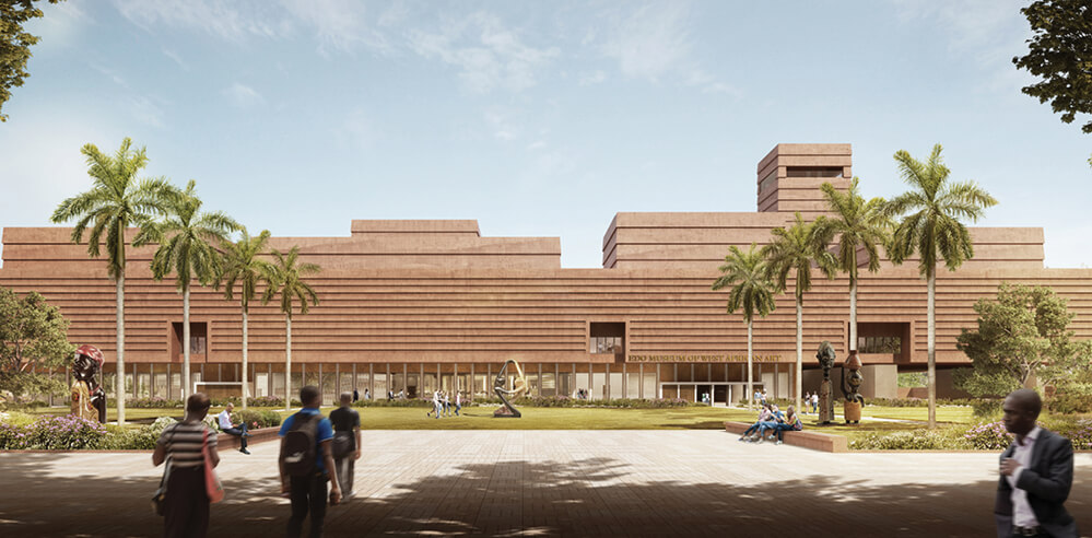 Adjaye Associates designs Edo Museum of West African Art over archaeology site