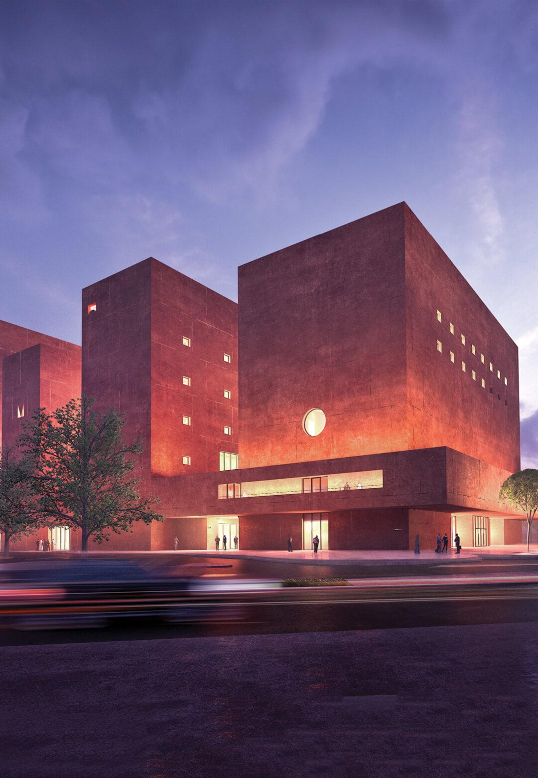 Visualisation of The Africa Institute in Sharjah by Adjaye Associates | The Africa Institute Campus | Adjaye Associates| STIRworld