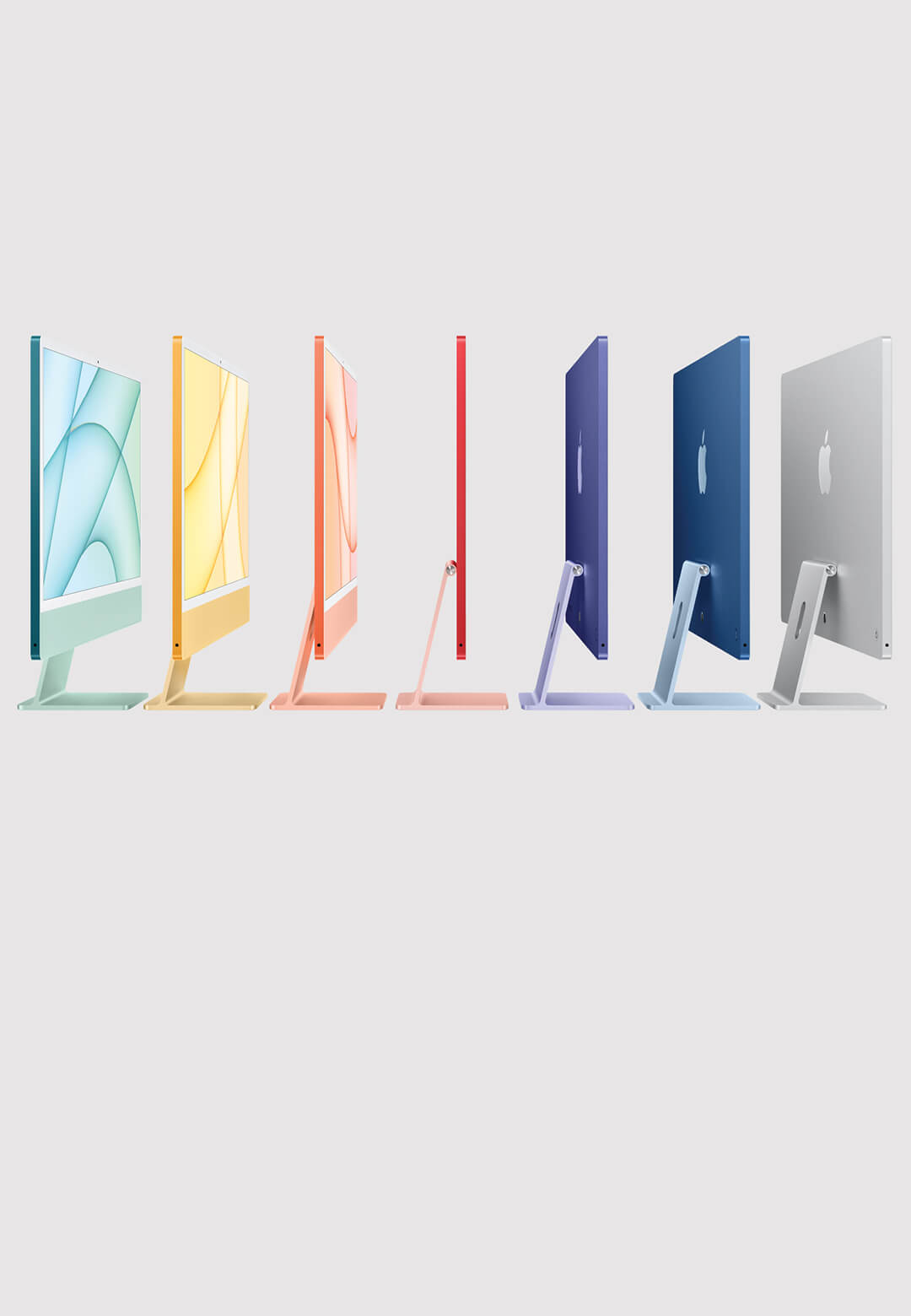 Apple unveils new version of the iMac in a spectrum of vibrant colours | All new iMac by Apple Inc. | STIRworld