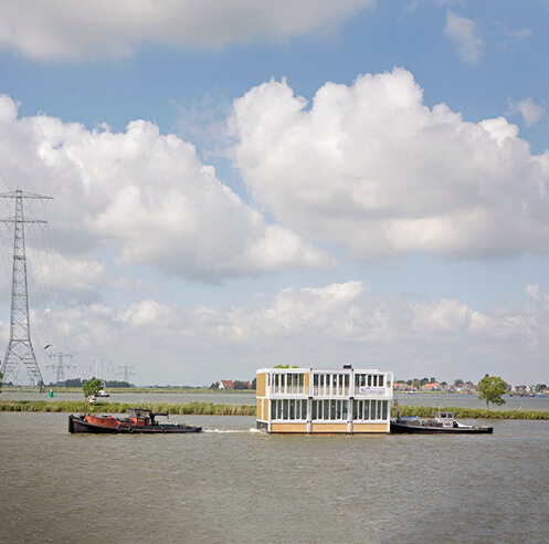 Roca London Gallery showcases projects focusing on flood resilient architecture