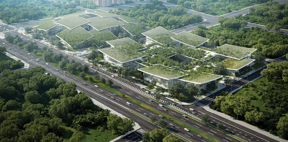 Bjarke Ingels Group envisions AI CITY for Terminus Group in Chongqing, China