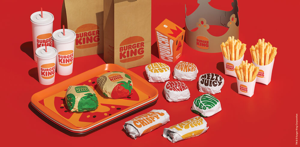 Burger King reveals new visual identity in its first rebranding in over 20 years