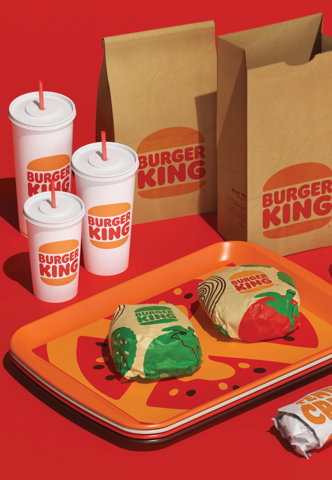 Burger King introduces its first visual rebrand in 20 years | Burger King Rebranding | Jones Knowles Ritchie | STIRworld