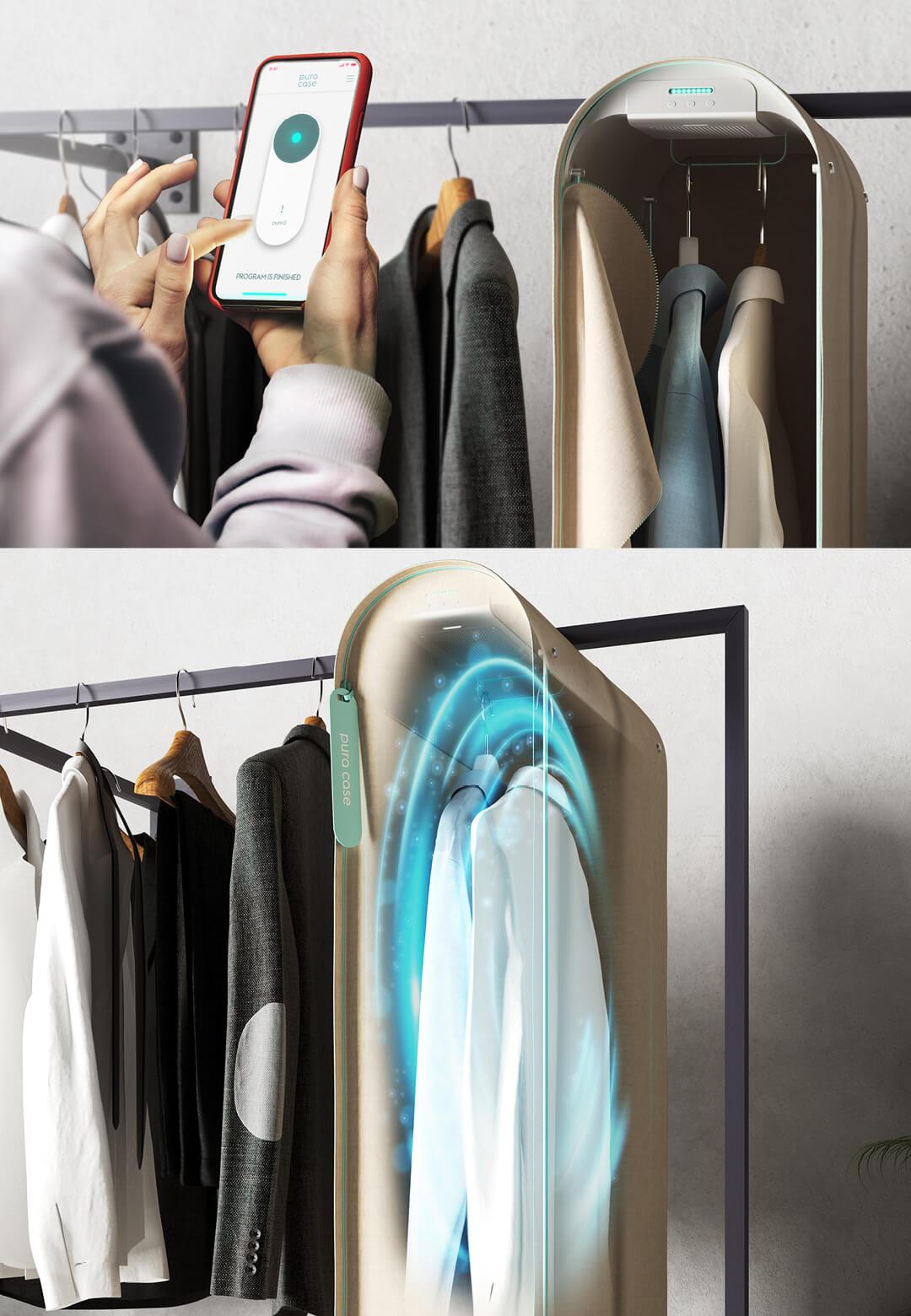 Pura-Case is a design prototype designed by Carlo Ratti Associati for tech startup Scribit | Pura-Case by Carlo Ratti Associati | STIRworld