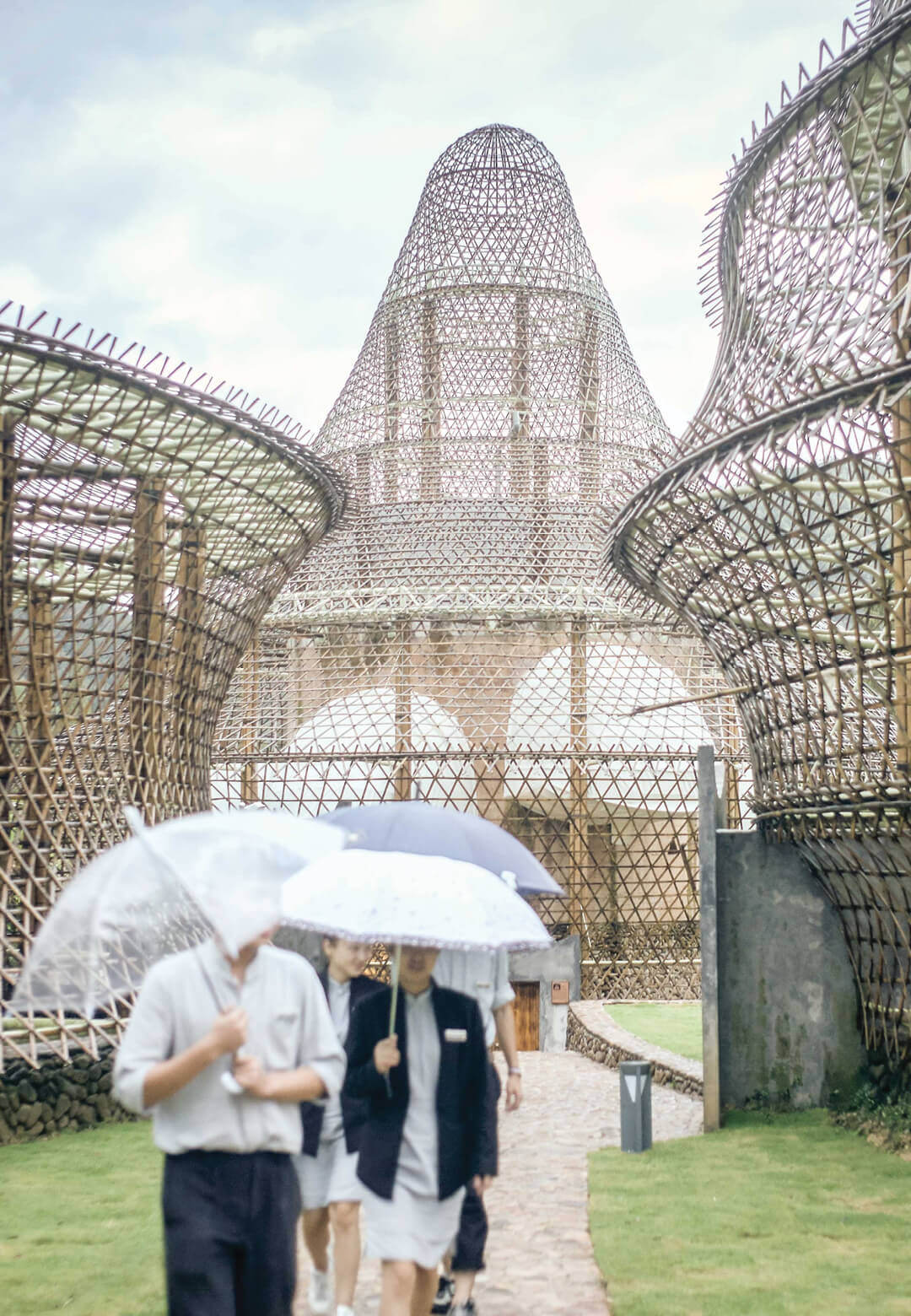 Anna Heringer, China Bamboo Hostels, Baoxi, China, 2016 (Planet Matters, Vienna Biennale for Change 2021)   Vienna Biennale for Change 2021   STIRworld
