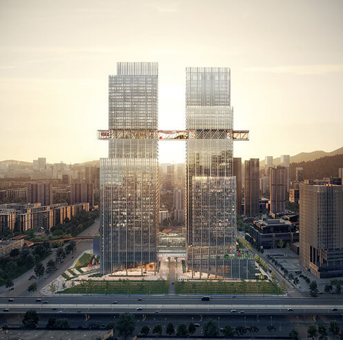 OMA starts construction of CMG Qianhai Global Trade Center in China