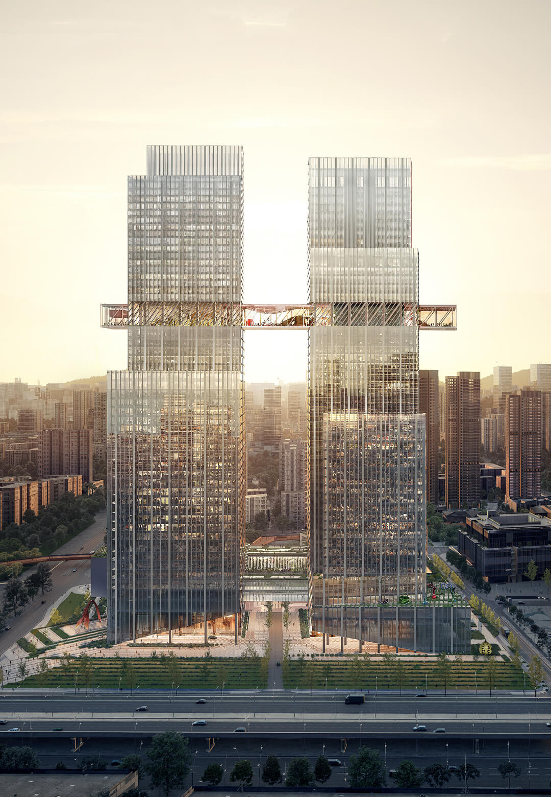 CMG Qianhai Global Trade Center | OMA | STIRworld