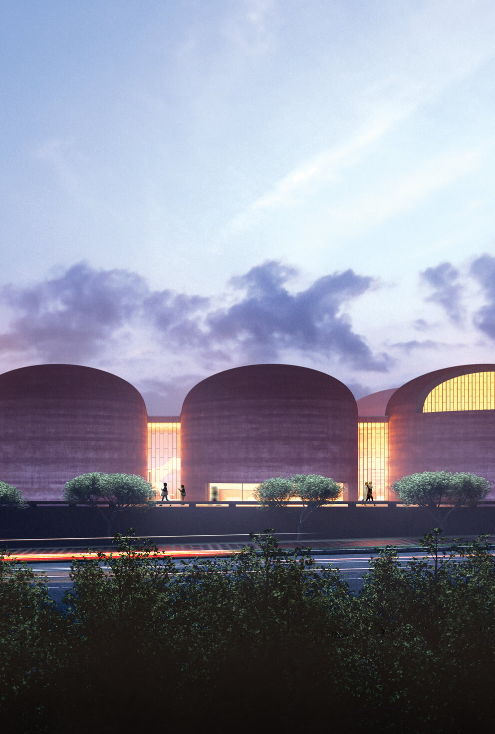 David Adjaye's rammed earth library is an ode to South African president Thabo Mbeki