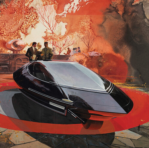 'Detroit Style: Car Design in the Motor City, 1950–2020' at the DIA