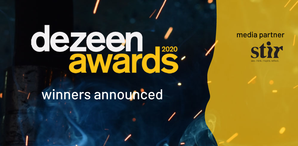 Dezeen Awards 2020 winners announced; spotlight on conscious design for the future