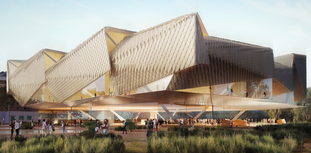 DS+R designs Aboriginal Art and Cultures Centre in Adelaide to showcase native ties