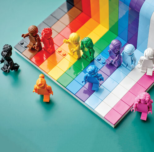 LEGO launches LGBTQIA+ set 'Everyone is Awesome' to mark the Pride Month