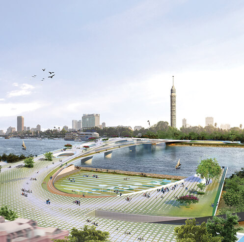 Five Egyptian architects win Rifat Chadirji Prize 2020 for 'living bridge over the Nile'