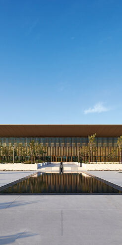 House of Wisdom by Foster + Partners creates a hi-tech ground for knowledge