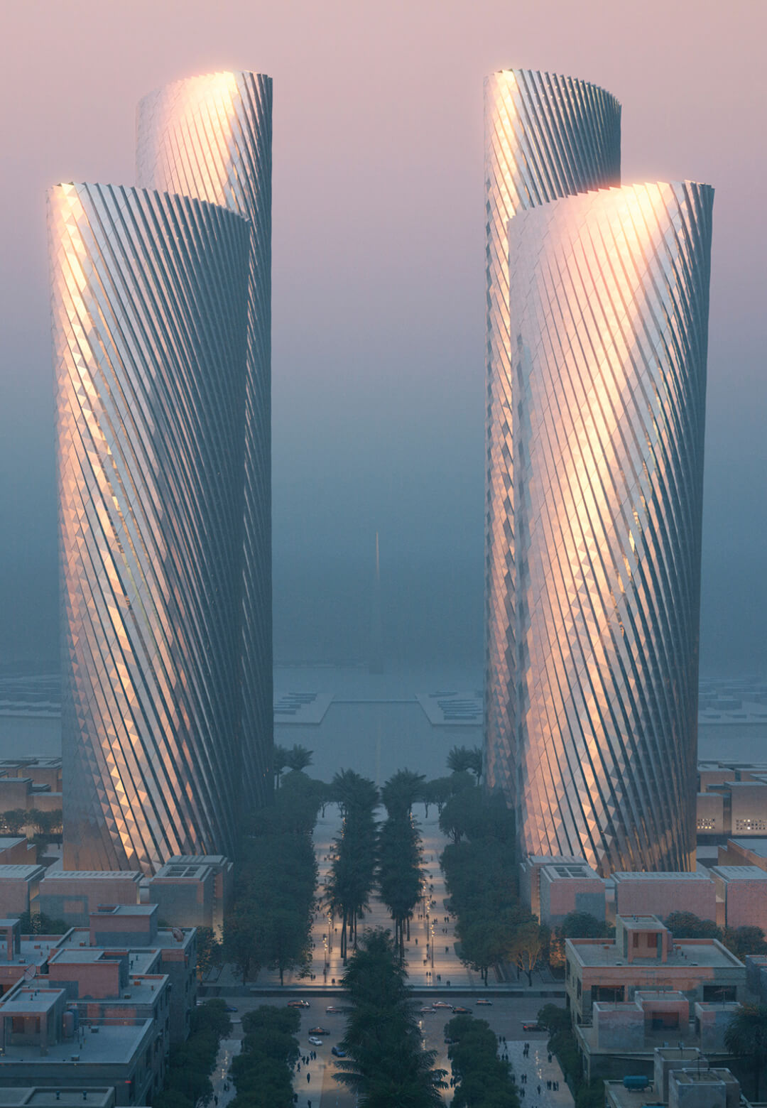 Lusail Towers- a cluster of four high-rise buildings in Qatar | Lusail Towers designed by Foster + Partners | STIRworld
