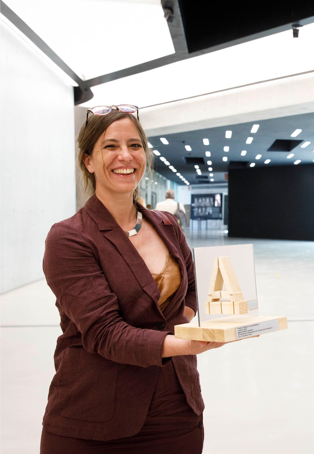 Francesca Torzo and Lucy Styles receive the Italian Architecture Prize at the MAXXI museum in Rome, Italy | Italian Architecture Prize | MAXXI museum| STIRworld