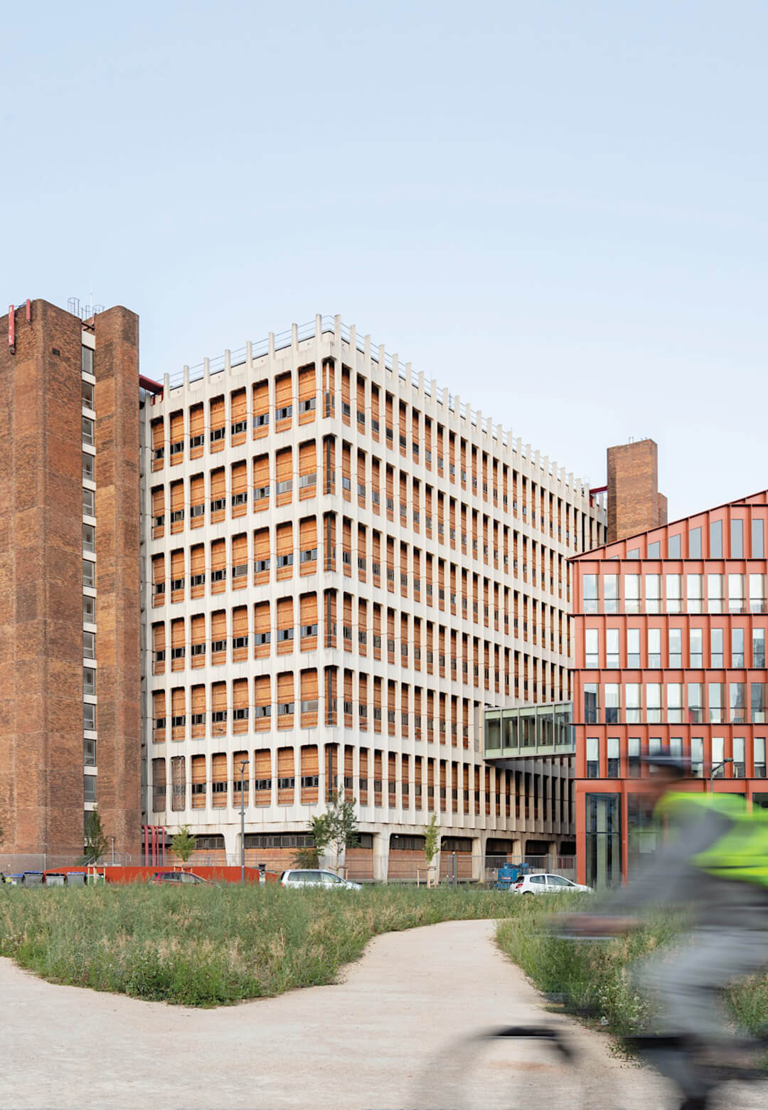 The construction of two new buildings transforms the use of the Lacassagne Telephone Exchange   Orange Campus   Hardel Le Bihan Architects and HGA-Hubert Godet Architects   STIRworld