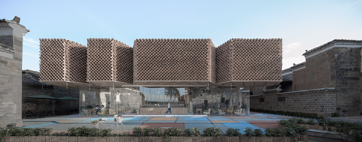 NEXT Architects rehabilitates China's rural village Dafang into an art locality