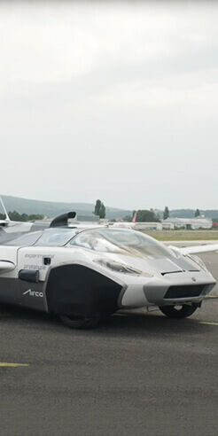 "From dream to reality: Klein Vision's ""flying car"" to glide over traffic woes"