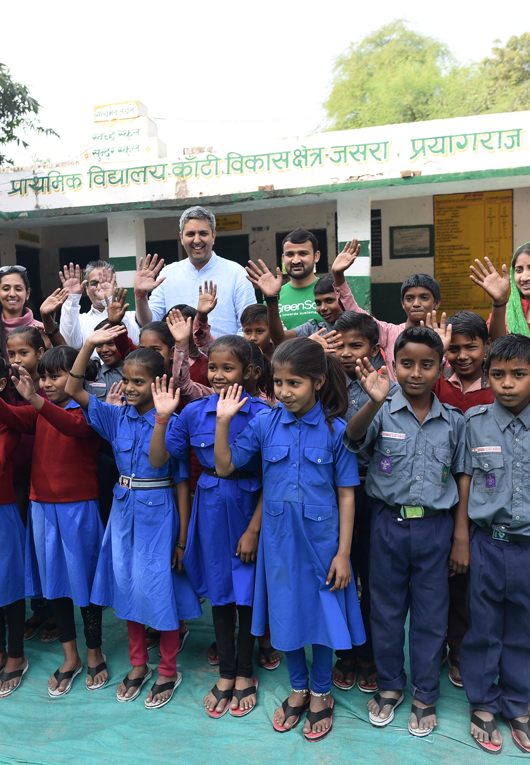Adidas India in partnership with an Indian NGO Greensole have donated upcycled footwear to underprivileged school children in India | Adidas India | Greensole | STIRworld