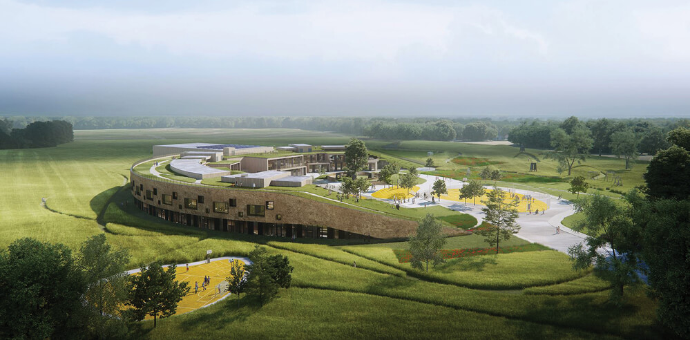 Henning Larsen's design for primary school in Denmark awarded Nordic Ecolabel