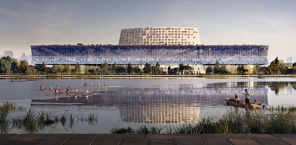 Herzog & de Meuron wins competition to design Hangzhou's Grand Canal Museum