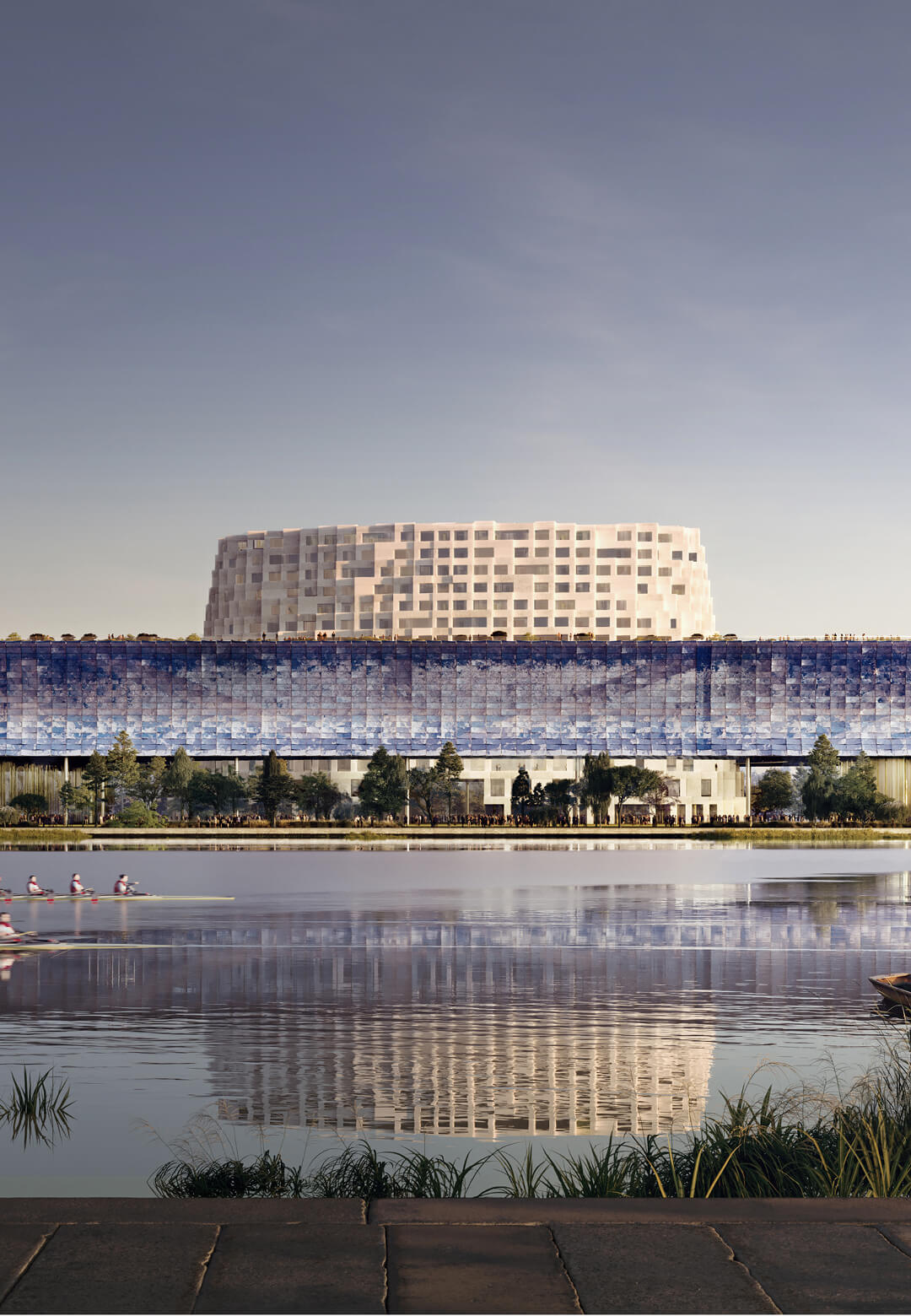Winning proposal for the Grand Canal Museum in Hangzhou | Grand Canal Museum | Herzog & de Meuron | STIRworld