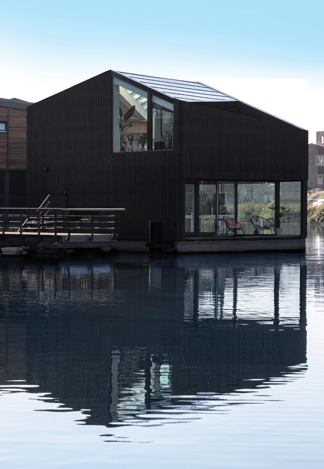 Floating Home at Schoonschip in Amsterdam   Floating homes designed by i29 architects   STIRworld