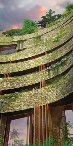 Jean Nouvel reveals visuals for Aquarela, a high-rise residential complex in Ecuador