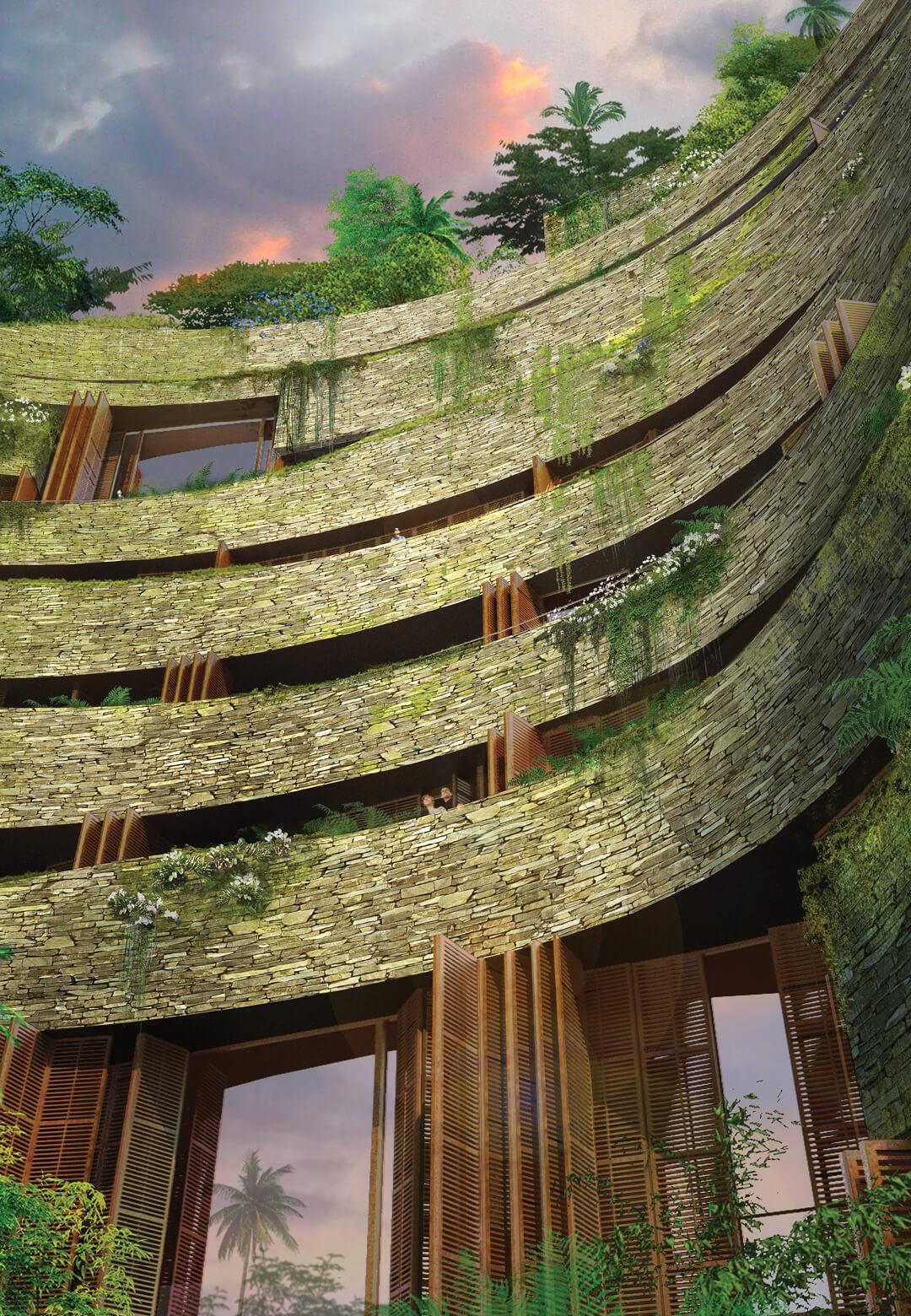 The Aquarela Complex in Ecuador | Aquarela by Ateliers Jean Nouvel | STIRworld