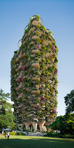 Koichi Takada Architects reveal plans for the world's greenest residential tower