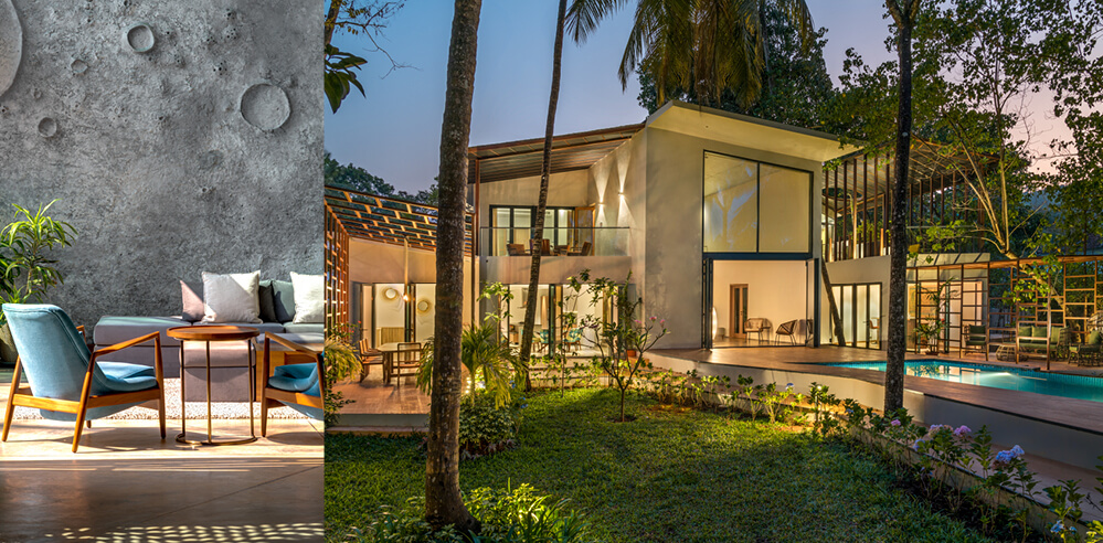 Kriss Real Estate, SAV architects complete 'Si-oul' trio with Lua and Terra villas in Goa
