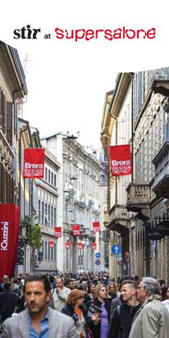 A walk through Milano's Brera Design District at Salone Del Mobile 2021