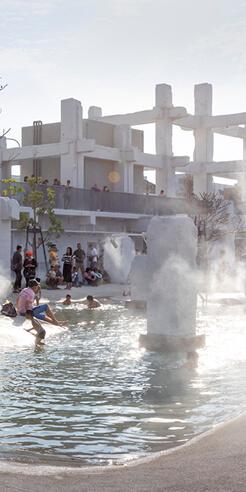 MVRDV's Tainan Spring transforms a vacant historic mall into an 'urban lagoon' in Taiwan
