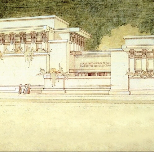 Restoration of Frank Lloyd Wright's Unity Temple gets a new documentary film