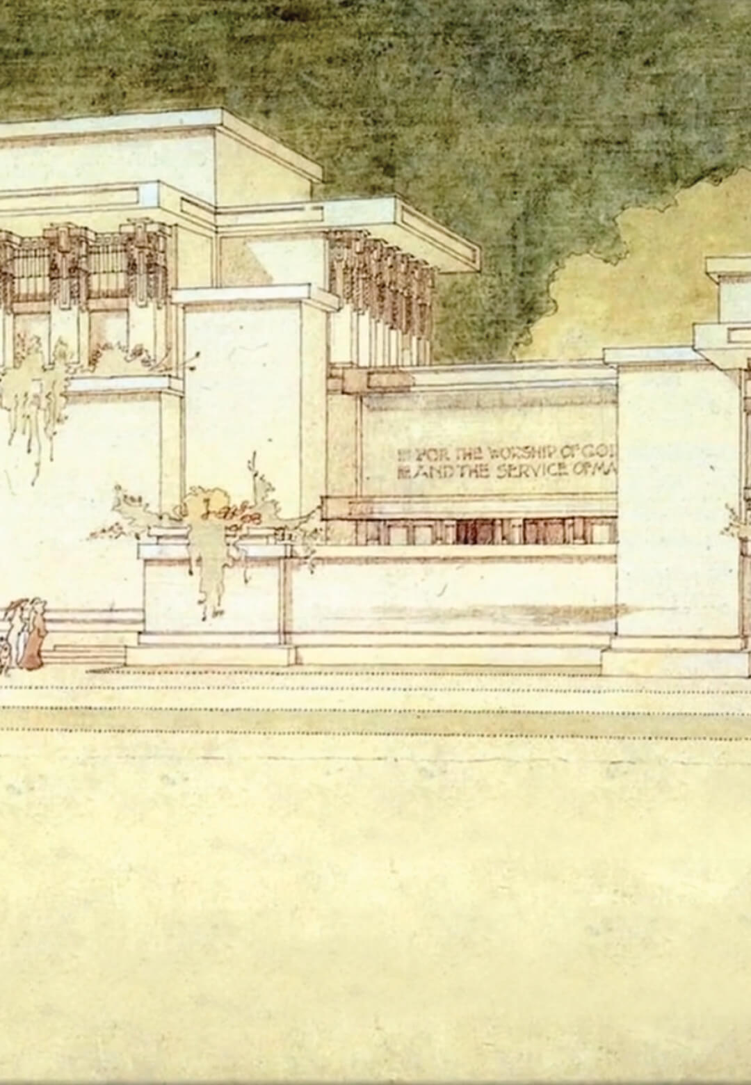 Documentary film 'Unity Temple: Frank Lloyd Wright's Modern Masterpiece' by filmmaker Lauren Levine | Unity Temple Restoration Frank Lloyd Wright | Lauren Levine | STIRworld