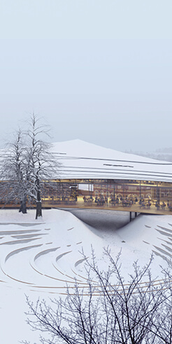 Playwright Henrik Ibsen's legacy gets a new home through Kengo Kuma's design