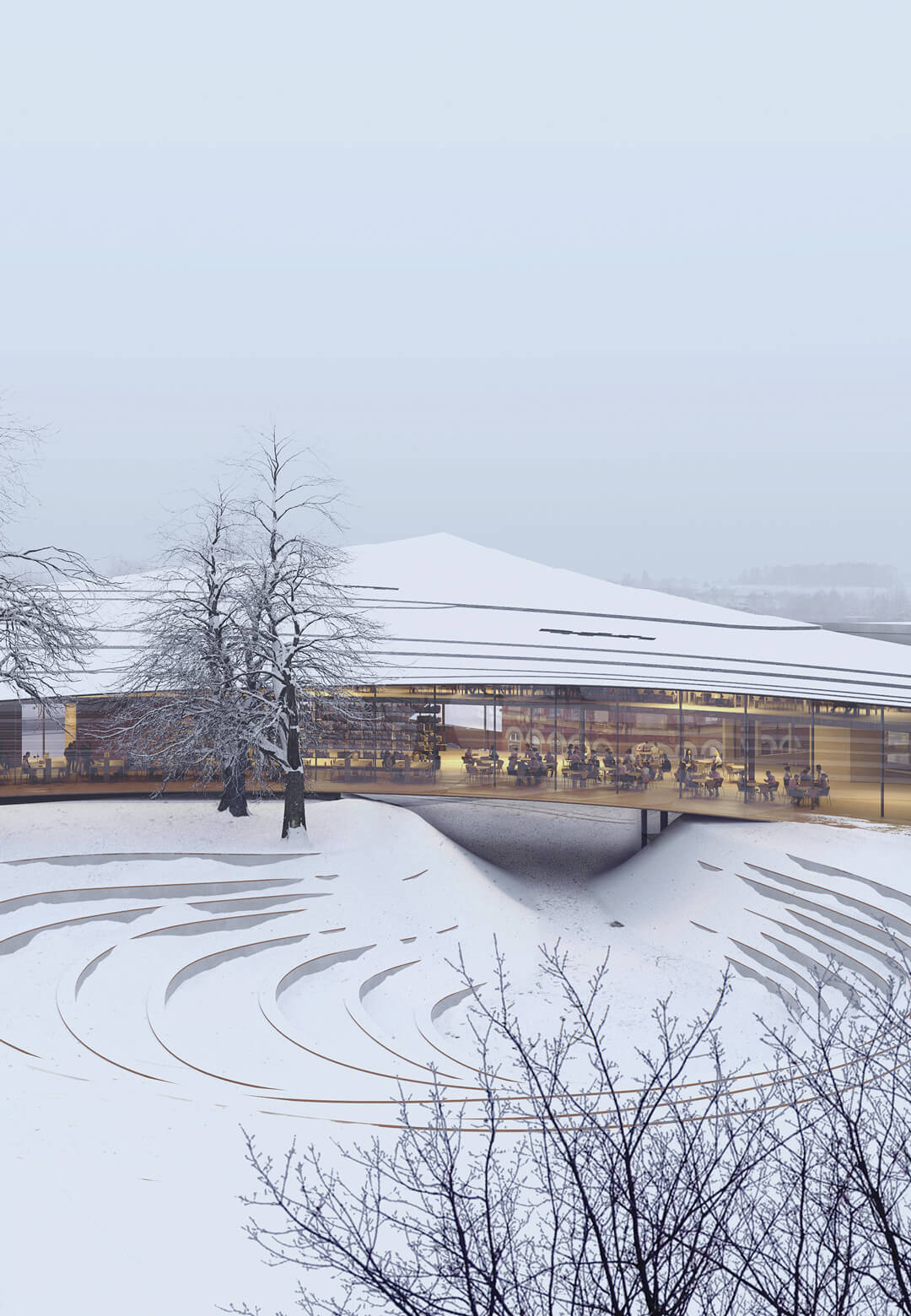 Ibsen Library in Skien, Norway, by Kengo Kuma and Associates and Mad Arkitekter | Ibsen Library by Kengo Kuma | STIRworld