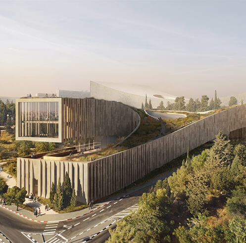 ODA shares its design for the Academy of the Hebrew Language HQ in Jerusalem