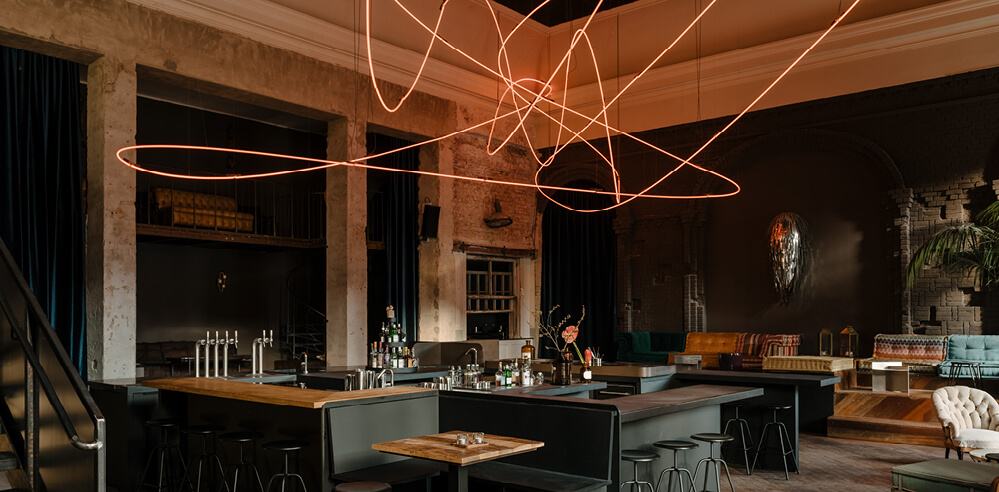 Oliver Mansaray and Daniel Scheppan open KINK Bar and Restaurant in Berlin