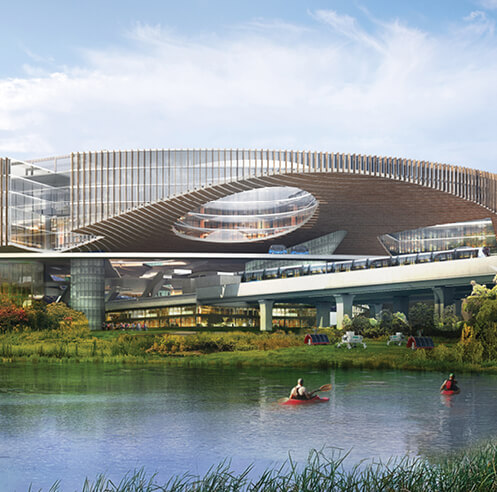 OMA to design Future Science and Technology City in Chengdu, China