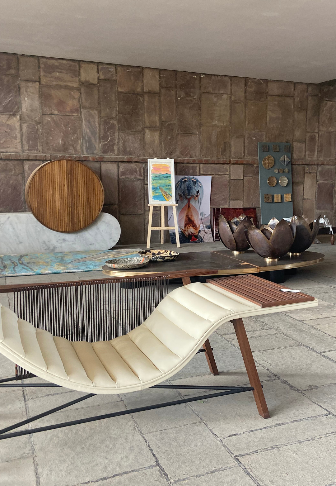 Products showcased at the Collaborative Design gallery, curated by guest curator Hiren Patel on the theme Ignite and Inspire | Raw Collaborative 2019 | Ahmedabad | STIRworld