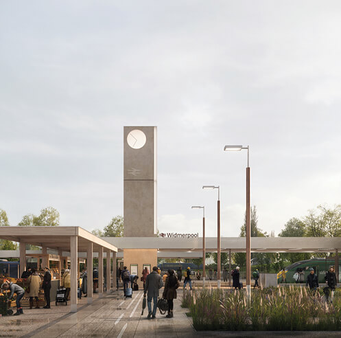 RIBA and Network Rail announce the winner of UK railway design competition