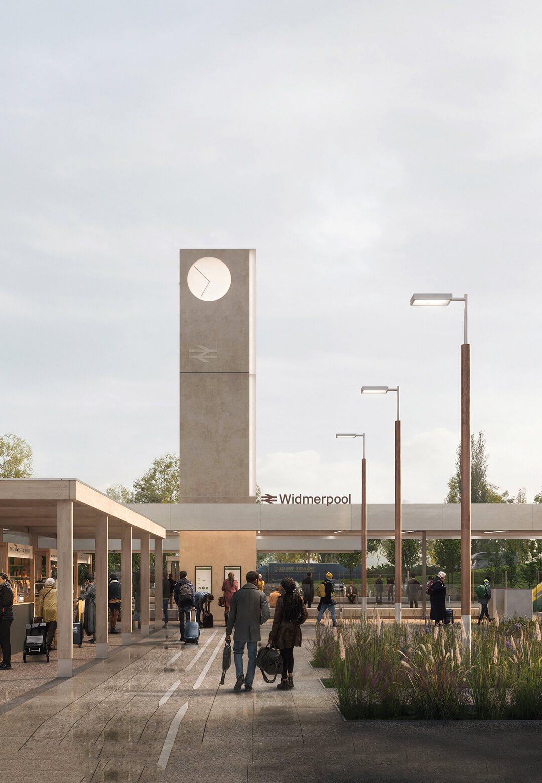 RIBA and Network Rail have announced 7N architects as the winner of an international design competition to reimagine the UK's railway stations | 7N Architects, RIBA, Network Rail, Railway Design Competition | STIRworld