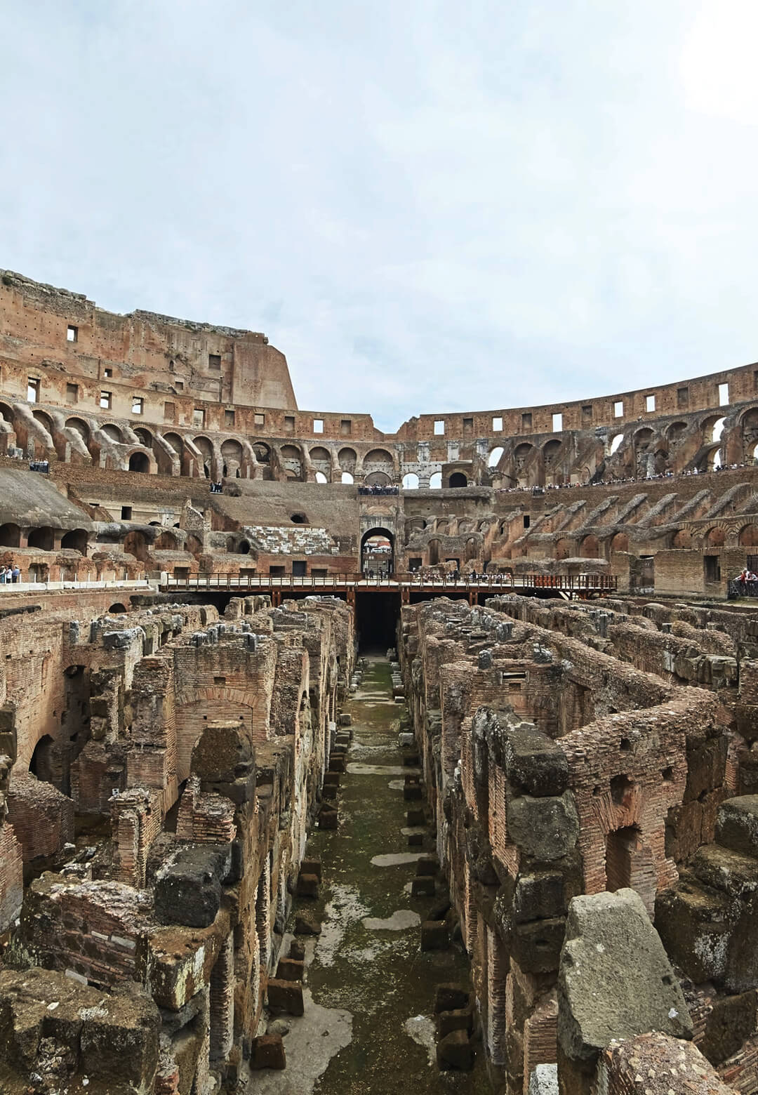 Rome is to rebuild the Colosseum floor along with conserving and restoring the hypogeum   Roman Colosseum Restoration and Conservation   Ministry for Cultural Heritage and Activities and Tourism   STIRworld