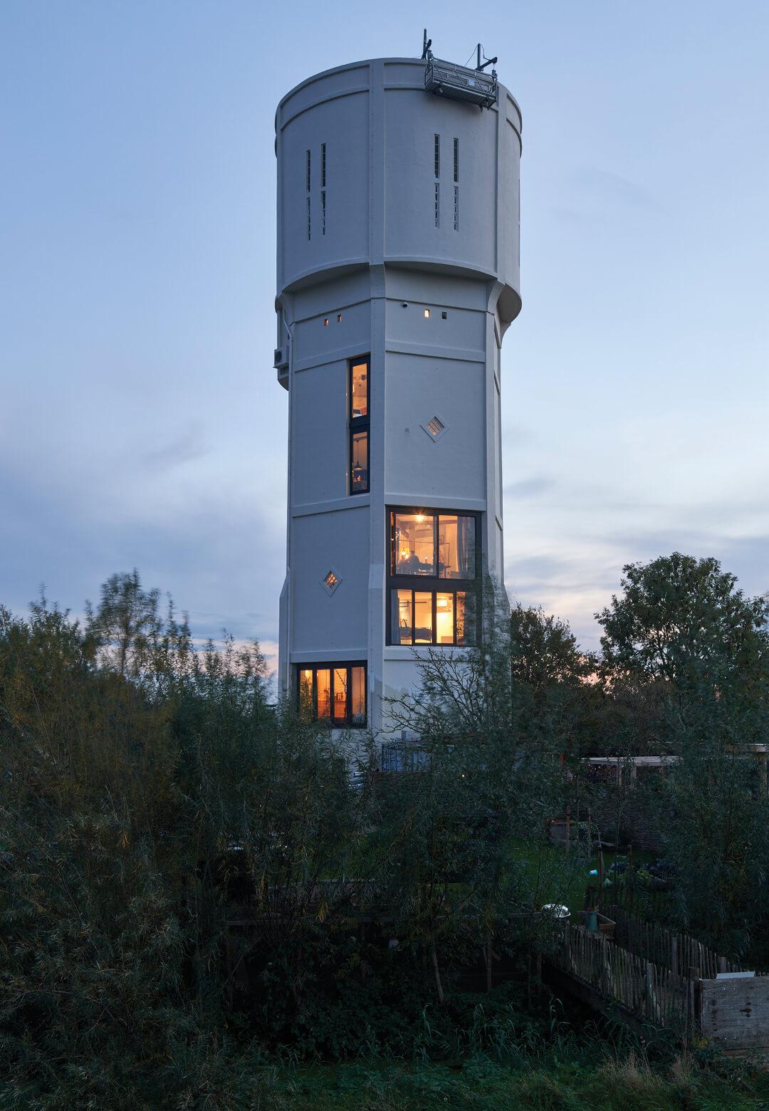 Winning project of the 2020 watertower prize | Transformation Watertower Nieuw Lekkerland | by RVArchitecture | STIRworld