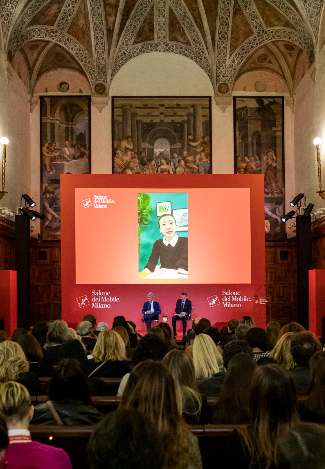 A glimpse from the Salone del Mobile Milano 2020 press conference held earlier this month | Salone del Mobile 2020 | Coronavirus | STIRworld