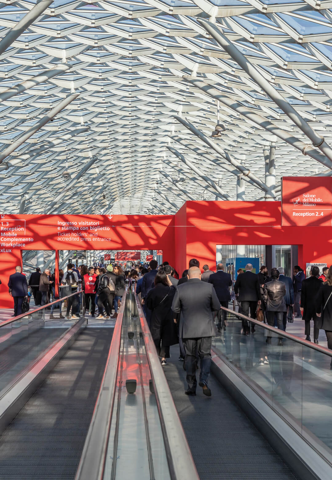 Salone del Mobile will take place as planned from September 5 – 10, 2021; an image from Salone del Mobile 2019| Salone del Mobile |STIRworld