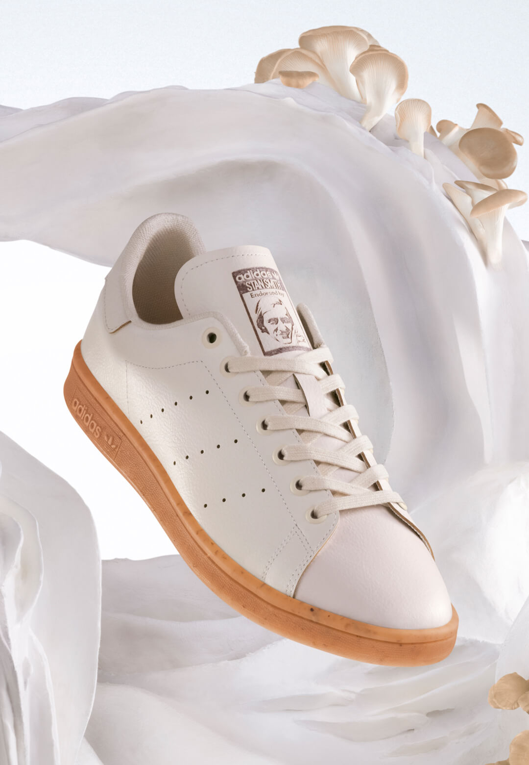 Adidas has revealed a concept for Stan Smith Mylo, made of a renewable leather substitute | Stan Smith Mylo by Adidas | STIRworld